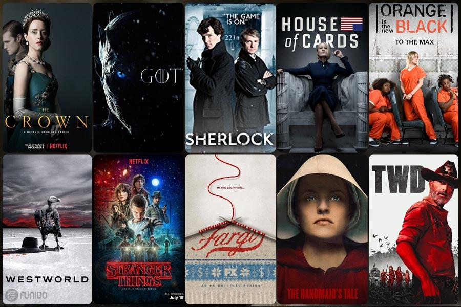 10 سریال خارجی برتر