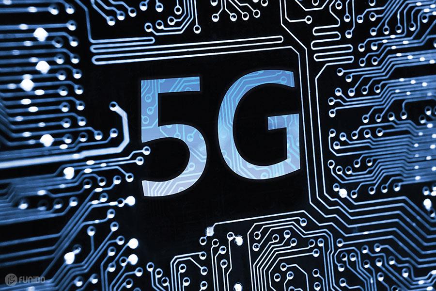 شبکه 5G یا 5 جی