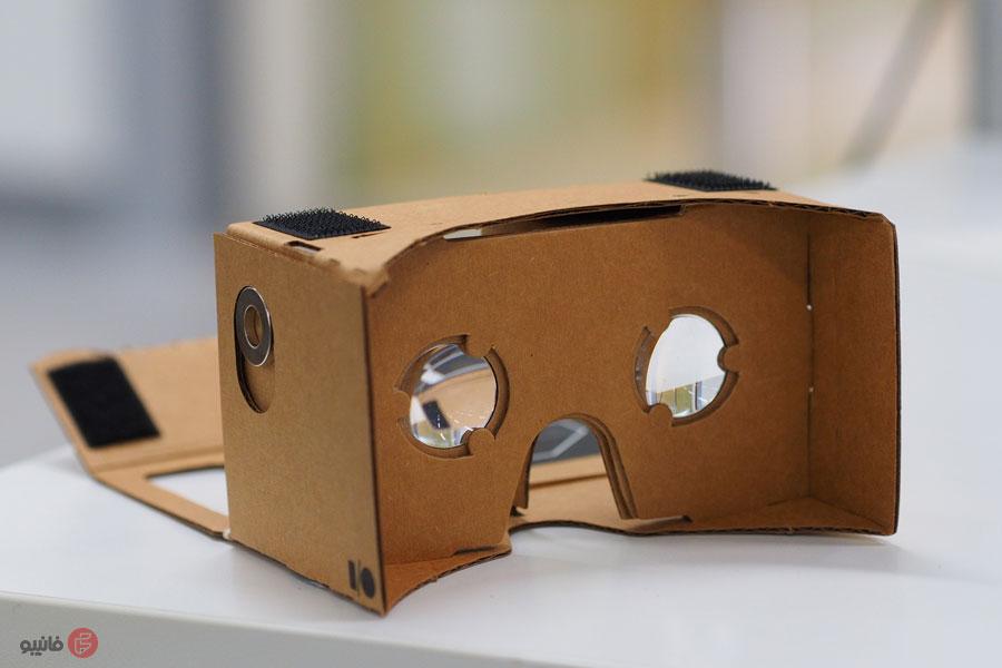هدست واقعیت مجازی مقوایی گوگل (Google Cardboard)