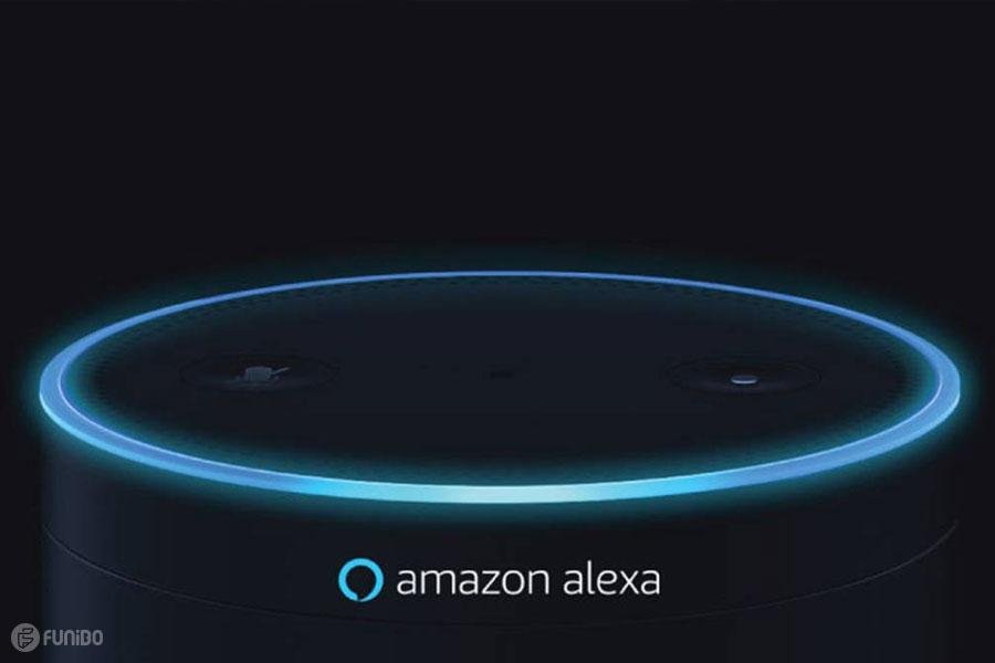 دستیار صوتی Alexa Amazon