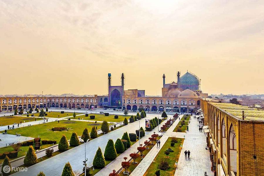 جاهای دیدنی اصفهان و جاذبه های گردشگری اصفهان