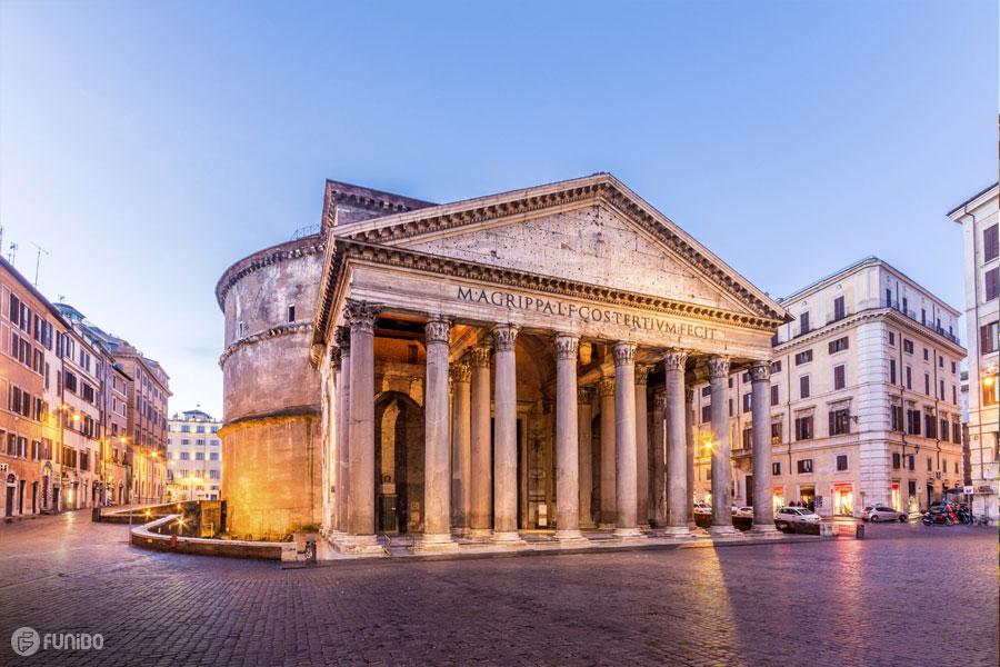 پانتئون در شهر رم