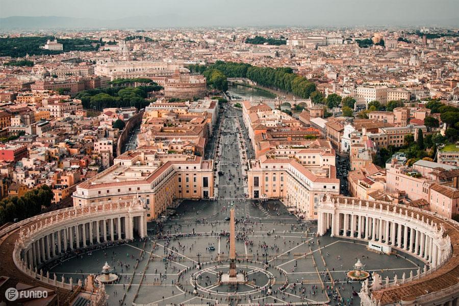جاهای دیدنی ایتالیا در شهر رم