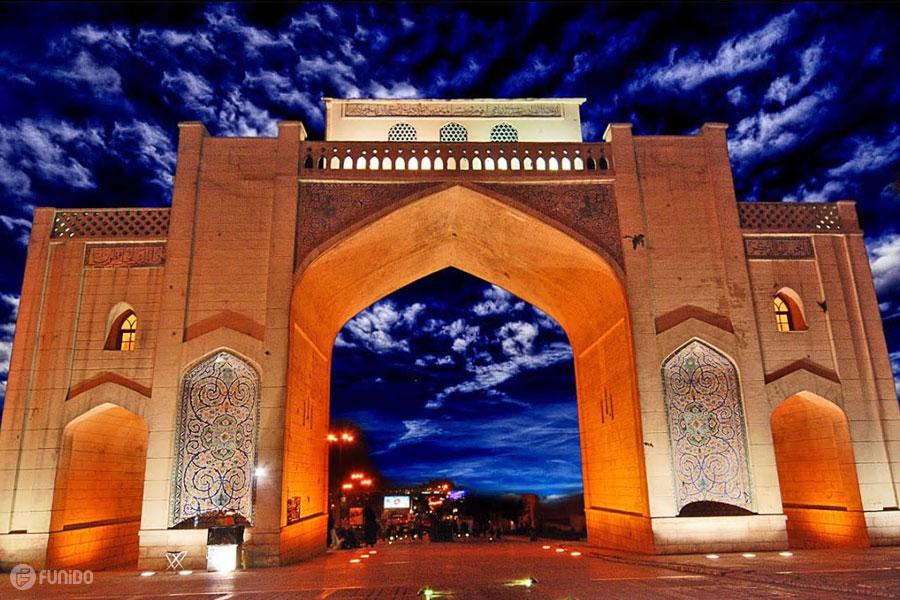 جاهای دیدنی شیراز - جاذبه های گردشگری شیراز