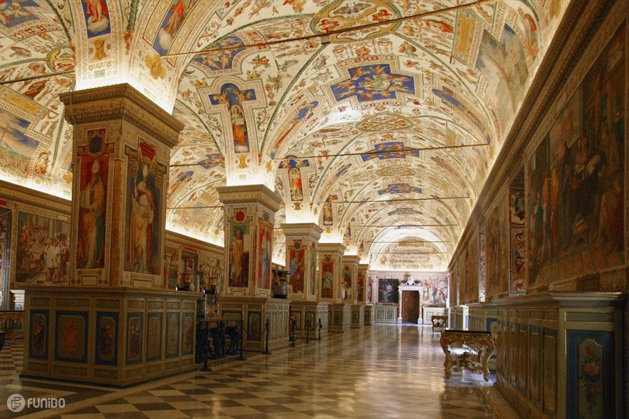 موزه واتیکان شهر رم