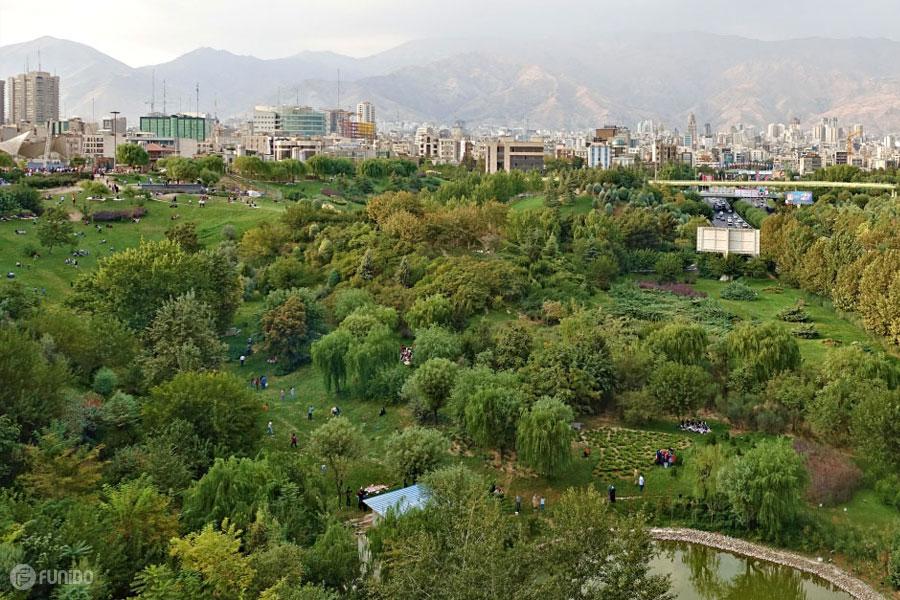 بهترین پارک های تهران را بشناسید