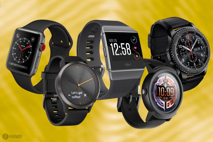 بهترین ساعت های هوشمند 2019
