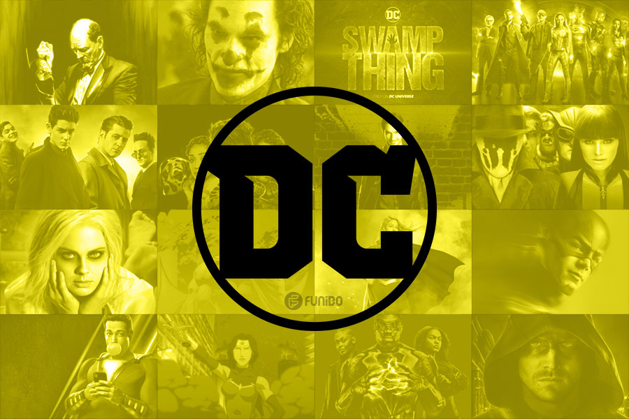 سریال ها و فیلم های جدید دی سی ( DC )