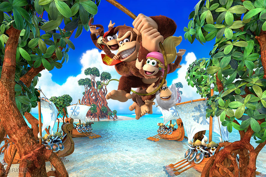(Donkey KongTropical Freeze (switch Port