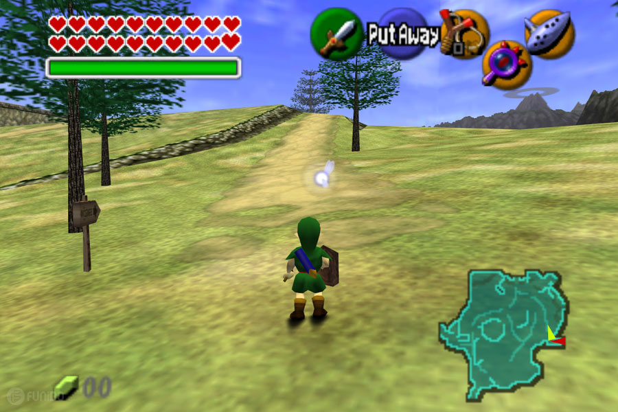 1998  - (The Legend of Zelda: Ocarina of Time (Nintendo 64