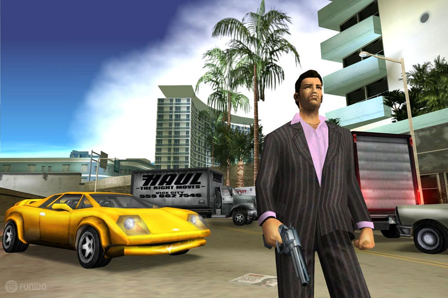 2002 – (Grand Theft Auto: Vice City (PlayStation 2