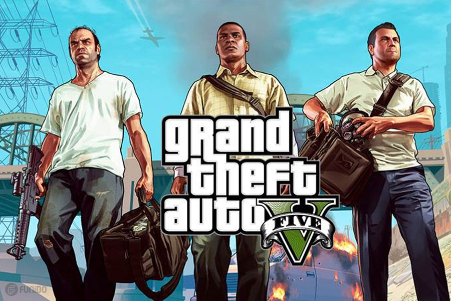 2013 – (Grand Theft Auto V (Xbox 360, PlayStation 3