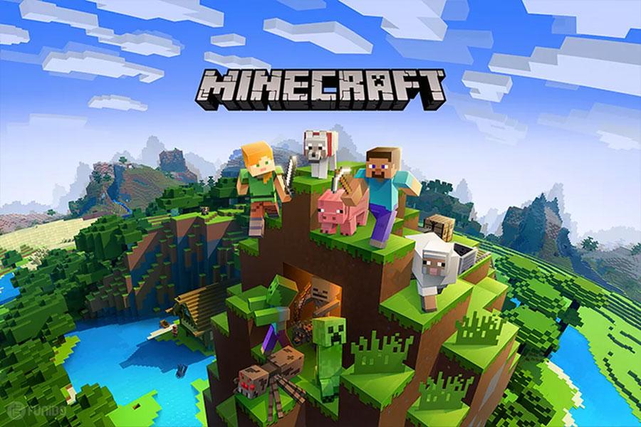 تصویر: https://funibo.com/wp-content/uploads/2019/03/f-The-25-best-PC-Games-04-Minecraft.jpg