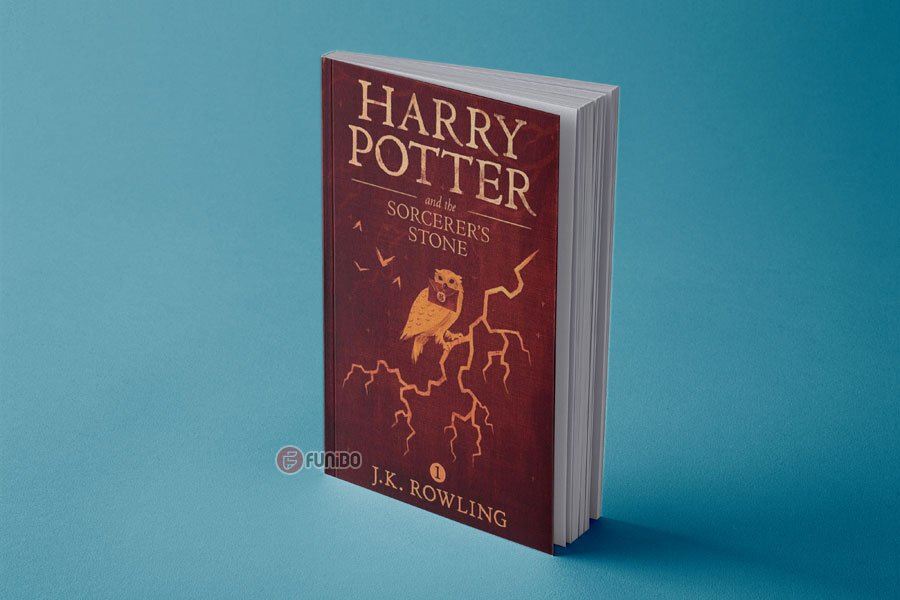 هری پاتر و سنگ جادو اثر جی.کی. رولینگ (Harry Potter and the Philosopher's Stone by J.K. Rowling)