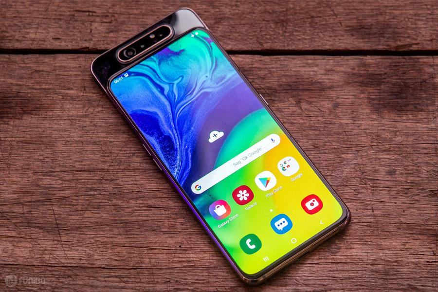 گوشی سامسونگ گلکسی A80 - همهچیز درباره Samsung Galaxy A80