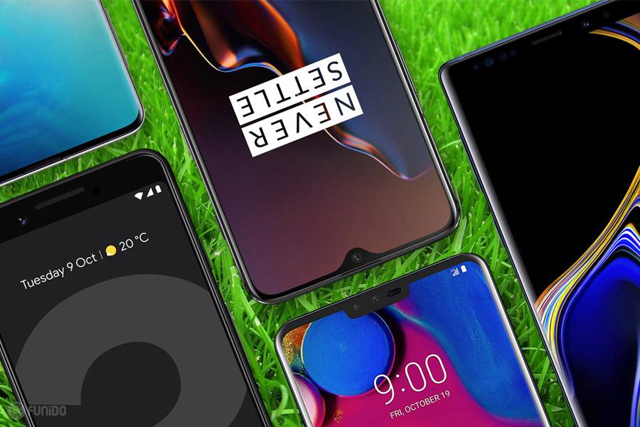 بهترین گوشی های اندروید 2019 – راهنمای انتخاب برترین تلفن های همراه اندرویدی سال