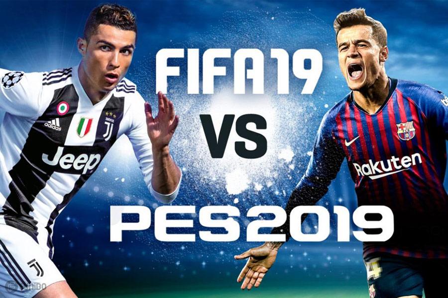 کدام بهتر است؟ - بررسی و مقایسه جامع بازیهای پی ای اس و فیفا PES 2019 یا Fifa 19