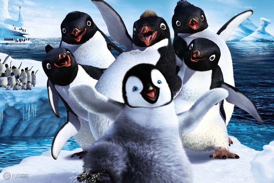 خوش‌قدم (2006) Happy Feet