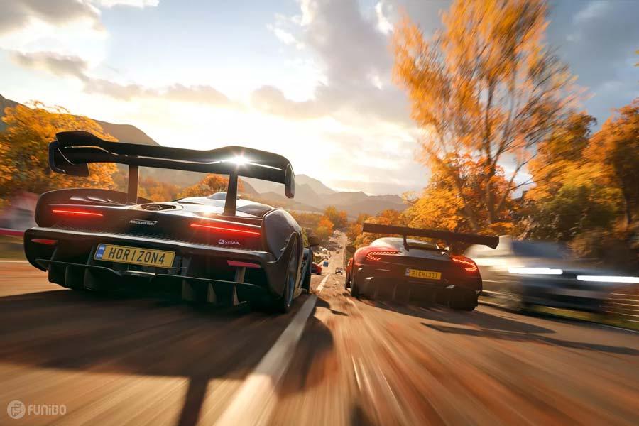 بازی فورزا هورايزن 4 - نقد و بررسی کامل چهارمین قسمت Forza Horizon