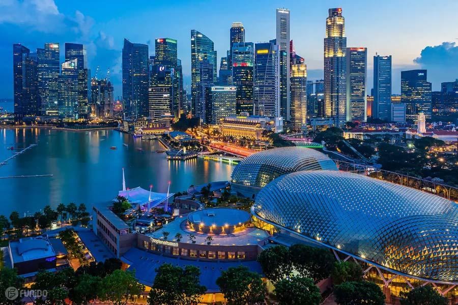 جاهای دیدنی سنگاپور -راهنمای جامع سفر برای اولین بار به سنگاپور