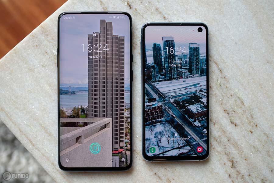 OnePlus 7 Pro و Galaxy S10e
