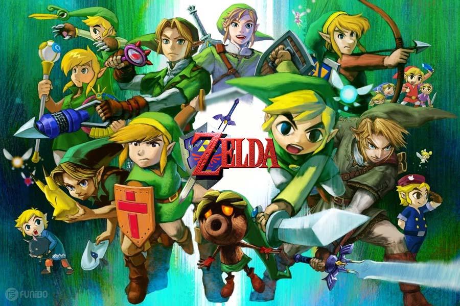 بازی زلدا - معرفی مجموعه 30 سال بازیهای The Legend of Zelda بهترتیب تاریخ انتشار