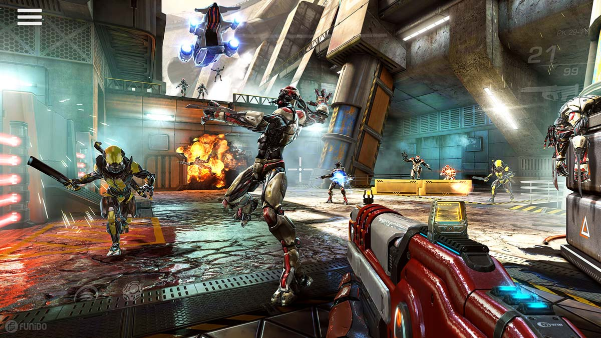 بازی Shadowgun Legends آیفون