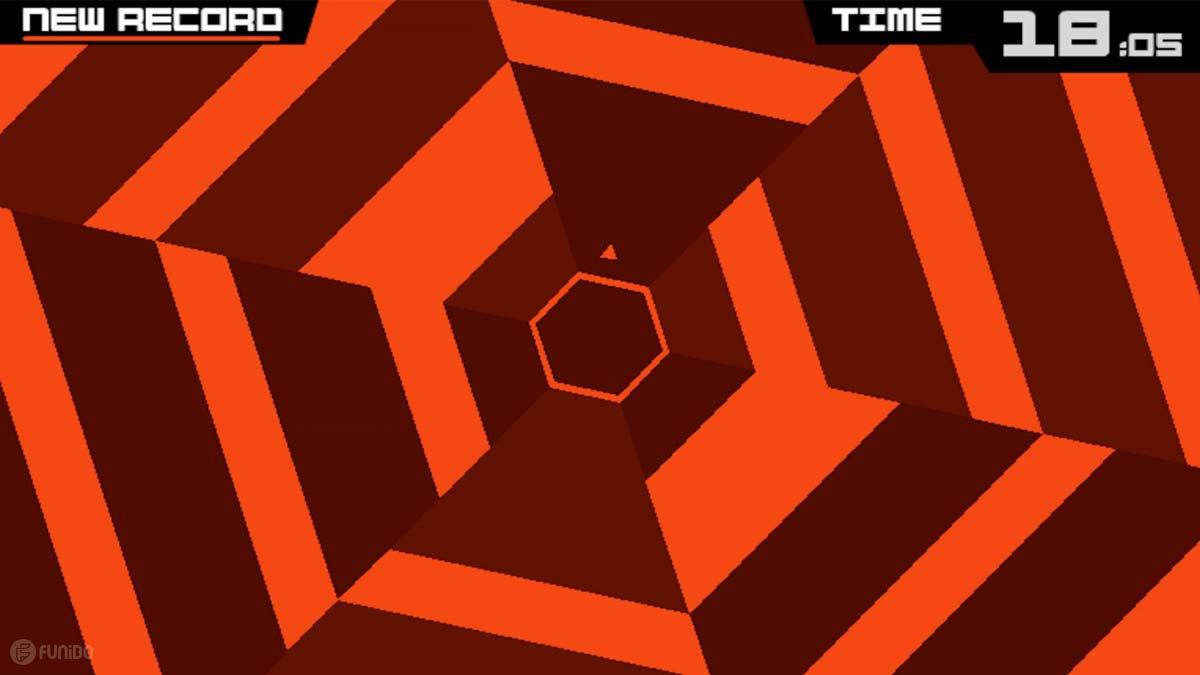 بازی Super Hexagon برای آیفون